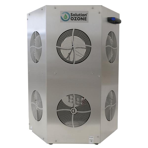 multiside o3 generator ozone ozono gerador hexagonal multidireção desinfeção escritório hotel restaurante